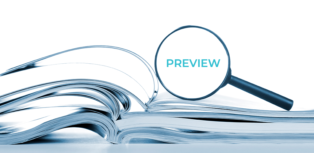Preview your blog before publishing