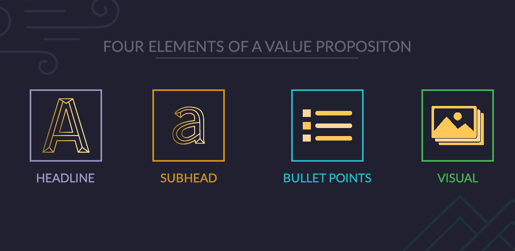 Elements of a value proposition