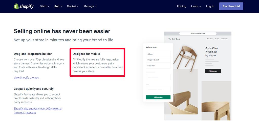 Shopify mobile-friendliness