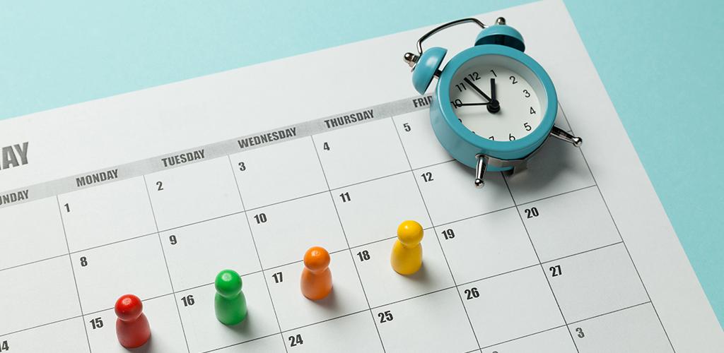 Compressed schedule