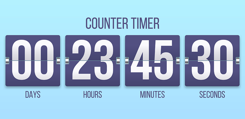 Hourly sales countdown