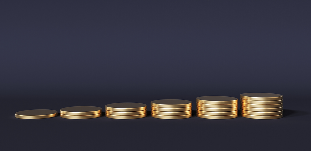 Profit margin coins