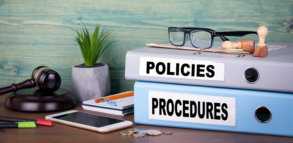 Policy and procedure binders