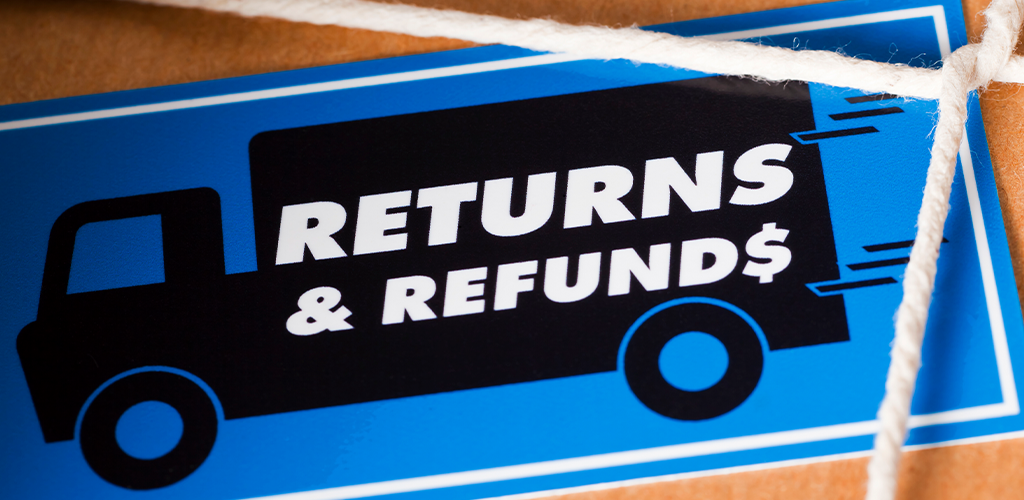 Returns and refunds