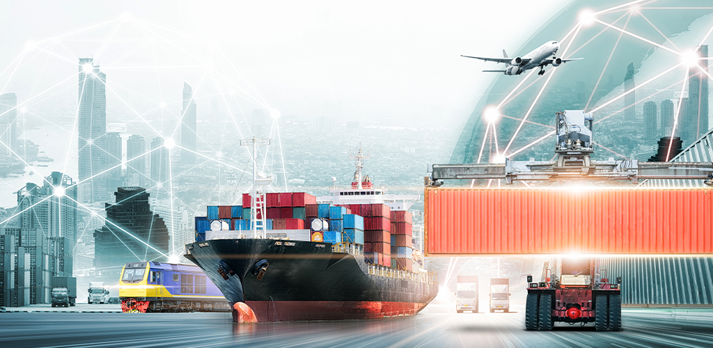 Product suppliers shipping products with boat, plane, train, truck