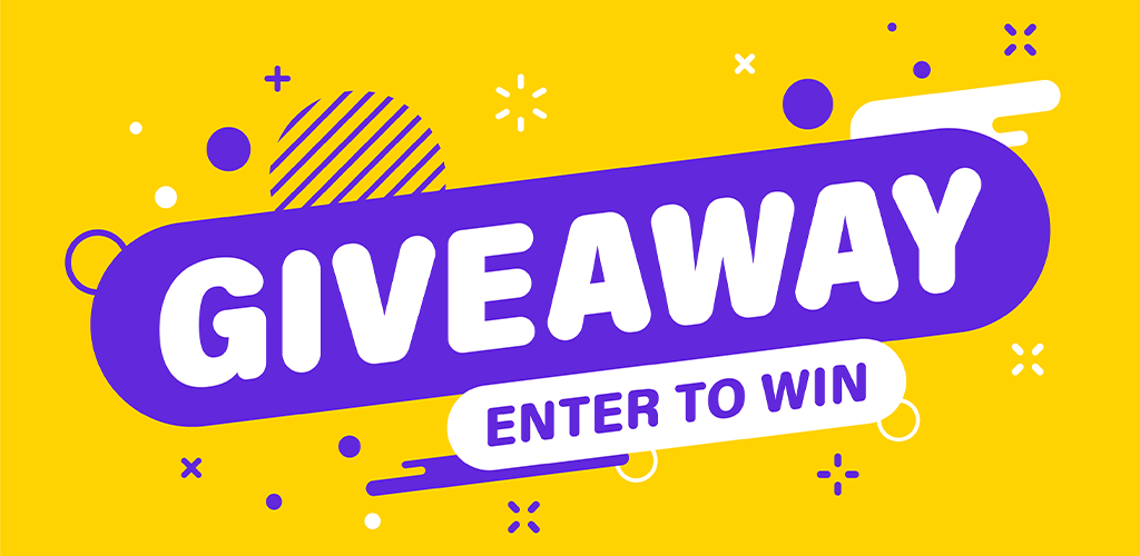 Giveaway announcement banner